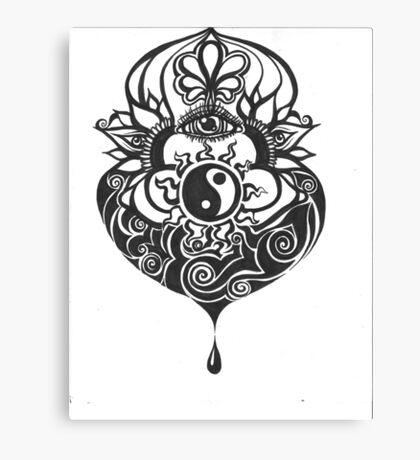 Harmonious Flow Canvas Print