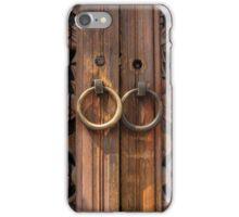 Traditional Korean Wooden Doors - Seoul iPhone Case/Skin