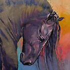 Friesian by Michael Creese