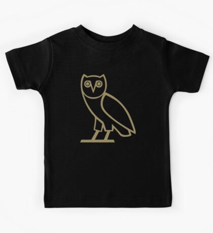 Gold Owl Kids Tee