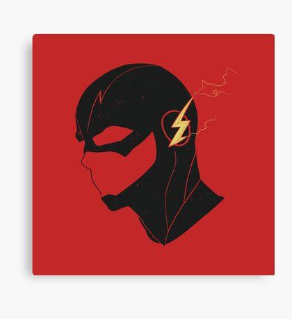The Flash - Black Canvas Print