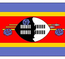 Swaziland Flag by kwg2200