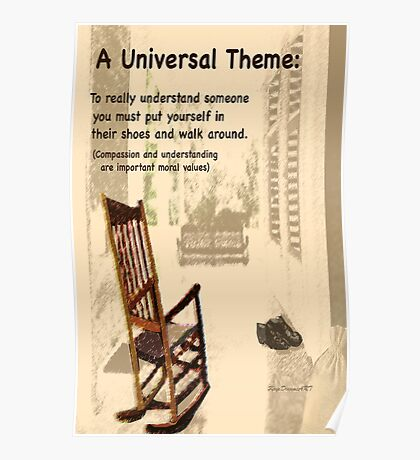 Universal theme inspired by TO KILL A MOCKINGBIRD Poster