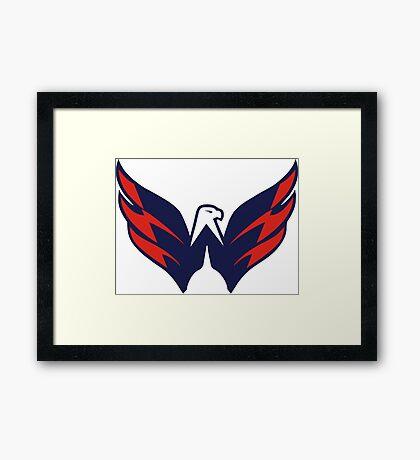 Washington Capitals Framed Print