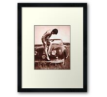 Memories of the Fifties [Austin A 90 ]1948 model ? Framed Print