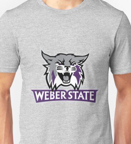 Weber State Wildcats Unisex T-Shirt