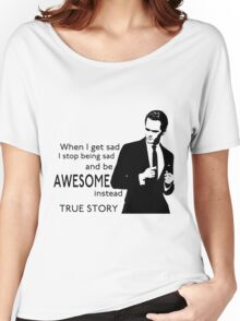 himym Barney Stinson Suit Up Awesome Women's Relaxed Fit T-Shirt
