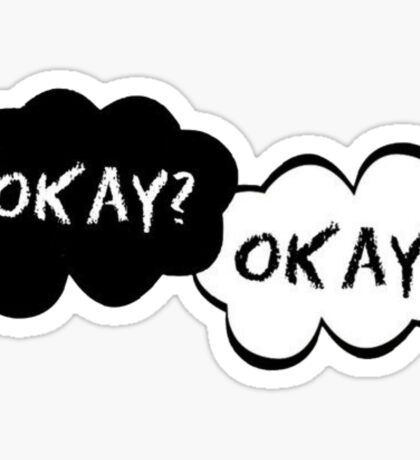 The Fault in our Stars Clouds Sticker