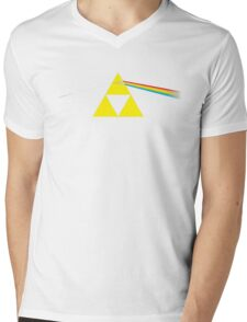 The Dark Side of the Triforce Mens V-Neck T-Shirt