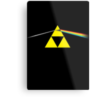 The Dark Side of the Triforce Metal Print