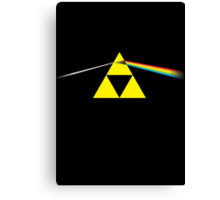 The Dark Side of the Triforce Canvas Print
