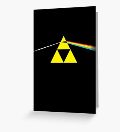 The Dark Side of the Triforce Greeting Card