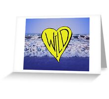 Wild Heart: Oregon Coast Greeting Card