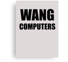 WANG computers Canvas Print