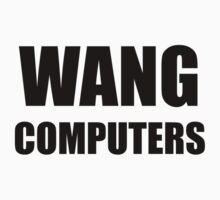 WANG computers Kids Clothes