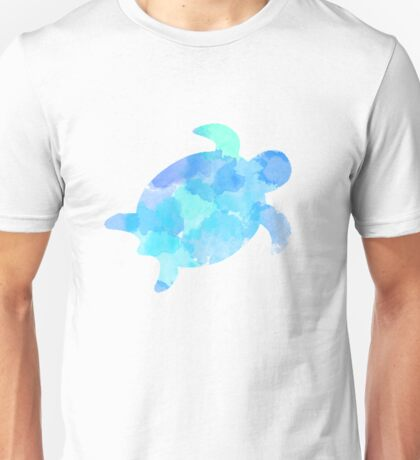sea turtle water color Unisex T-Shirt