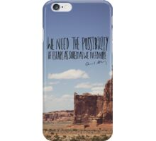 Edward Abbey x Escape iPhone Case/Skin