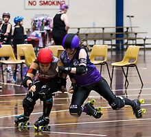 Flying Witch @ Roller Derby (The Witches of Eastvic) by Nick Sage