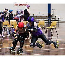 Flying Witch @ Roller Derby (The Witches of Eastvic) Photographic Print