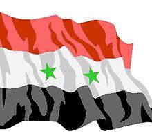 Syria Flag by kwg2200