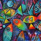 Hello fishies ii by Karin Zeller
