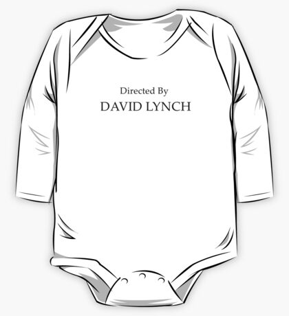 Directed By David Lynch One Piece - Long Sleeve