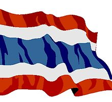 Thailand Flag by kwg2200
