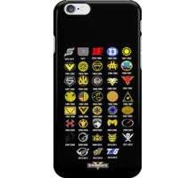 Super Sentai 38th Anniversary iPhone Case/Skin