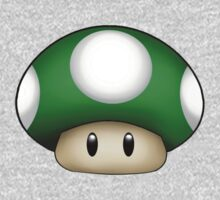 1 Up Mushroom One Piece - Long Sleeve