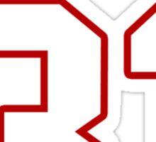 NFL Player Omar Bolden thirtyone 31 Sticker