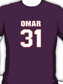 NFL Player Omar Brown thirtyone 31 T-Shirt