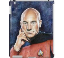 Captain Picard Portrait - Star Trek Art iPad Case/Skin