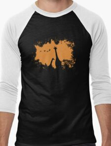 Wild Africa Men's Baseball ¾ T-Shirt