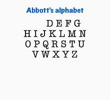 Abbott's alphabet Unisex T-Shirt