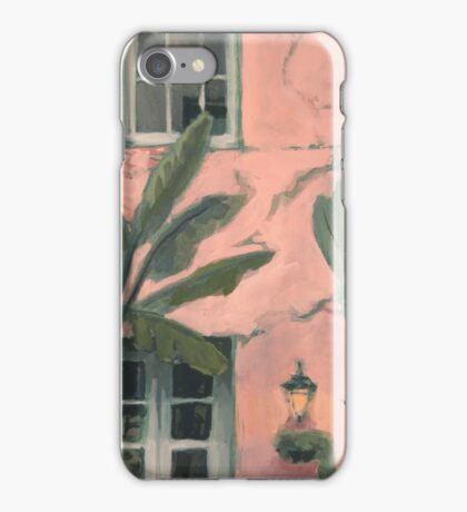 New Orleans Pink Afternoon iPhone Case/Skin