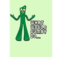 GUMBY Photographic Print
