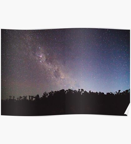Starry Night - Wilsons Prom Poster