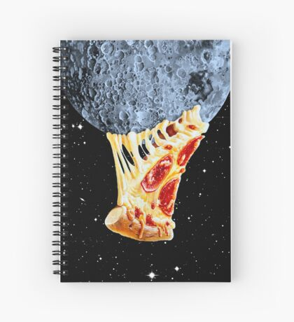 When the moon hits your eye... Spiral Notebook
