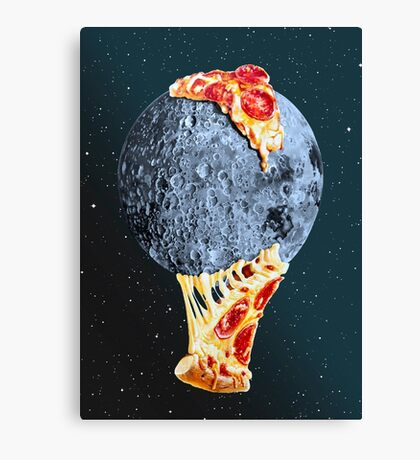 When the moon hits your eye... Canvas Print