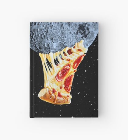 When the moon hits your eye... Hardcover Journal
