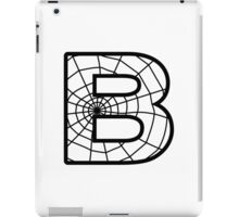 Spiderman B letter iPad Case/Skin
