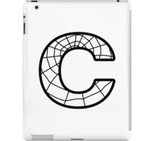 Spiderman C letter iPad Case/Skin