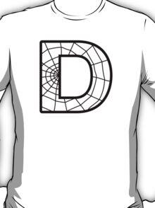 Spiderman D letter T-Shirt