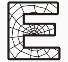 Spiderman E letter by Stock Image Folio