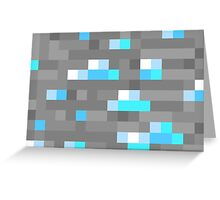 Minecraft Diamond Block Everything! Greeting Card