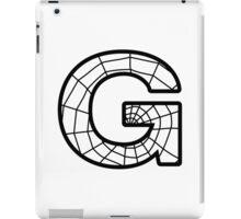 Spiderman G letter iPad Case/Skin