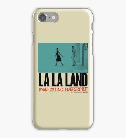 La La Land Rian Gosling And Emma Stone iPhone Case/Skin