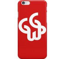 GG WP white iPhone Case/Skin