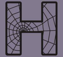 Spiderman H letter Kids Tee