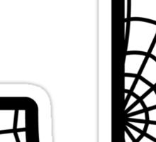 Spiderman J letter Sticker